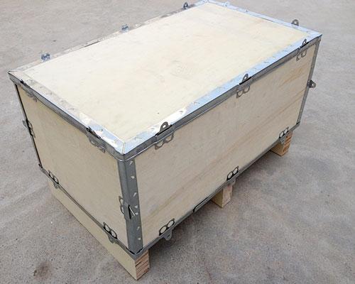 赣州钢带木箱
